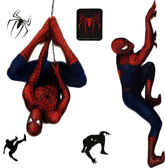 Marvel Spiderman 2 Stickers Superhero SelfStick Decals
