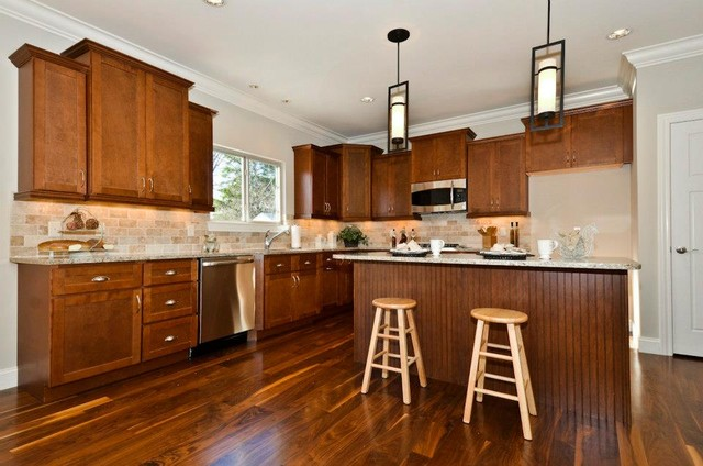 Shaker Walnut Cabinets Contemporary Kitchen Other By Quality