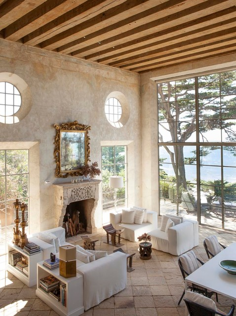 Installation, Malibu California, Shapiro mediterranean-living-room