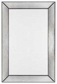 Tompkins Frameless Rectangular Mirror - Modern - Bathroom ...