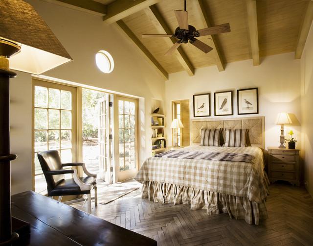 Montecito Cottage Bedroom  Traditional  Bedroom  Santa