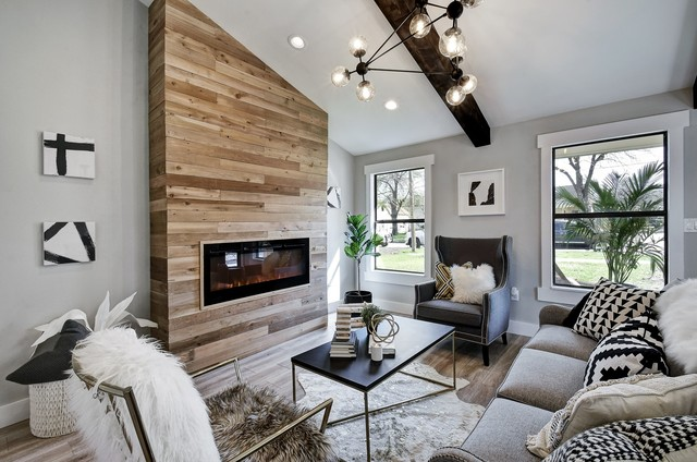 Open Concept Urban Modern Home Renovation - Contemporary ...