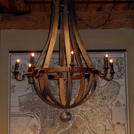 I Have The Wood Barrel Chandelier Like In This Photo And It Is My Kitchen Eating Area Over Table M Trying To Find A Light Fixture Hand