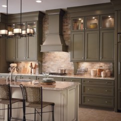 American Classics Kitchen Cabinets Tile Floors In Classic Traditional Style - ...