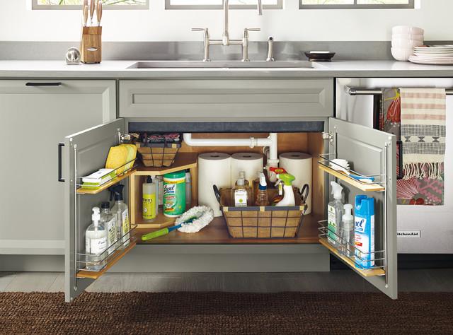 under sink kitchen cabinet houzz uk