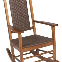 Woven Rocking Chair Baby High Chairs Walmart Jack Post Fuzhou Rocker Kn 2028n Tropical Outdoor By Hipp Hardware Plus