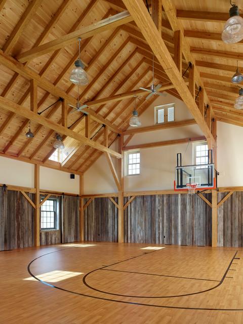 New Barn  Farmhouse  Home Gym  Philadelphia  by