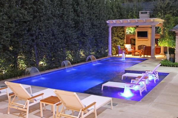 modern pools