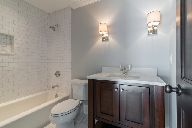 2nd Story addition/Total renovation traditional-bathroom