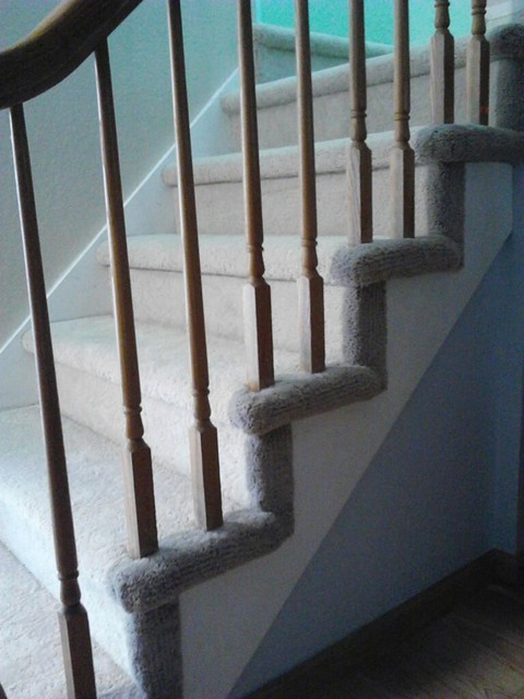 Hollywood Carpet Stairs  Traditional  Staircase  San