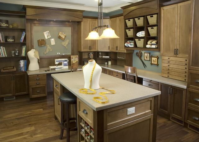 Lisa Geisler Design traditional-home-office