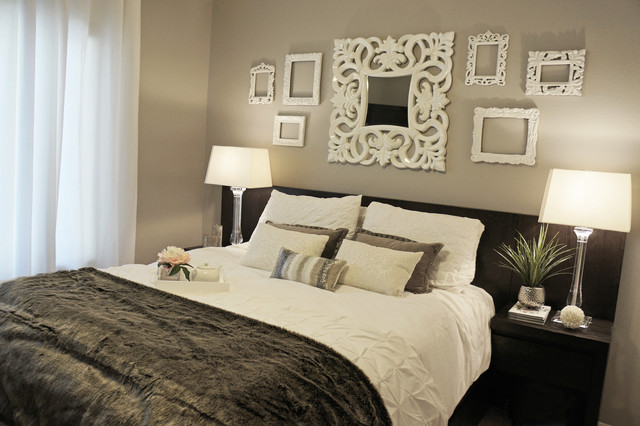 Boutique Hotel Inspired Guest Bedroom Contemporary Las Ideas Style