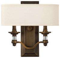 Hinkley Lighting 4900BN 2 Lt. Sconce - Wall Sconces - by ...