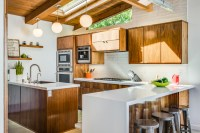 New This Week: 3 Modern Kitchens That Rock Warm Wood Cabinets