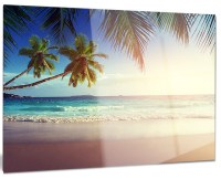 """Typical Sunset on Seychelles Beach"" Metal Wall Art ..."