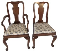 Queen Anne-Style Chairs, Set of 8 - Contemporary - Dining ...