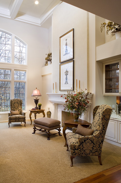 Living Room Traditional Living Room Minneapolis By