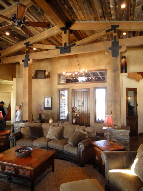 Talking Rock Ranch Eclectic Living Room Phoenix By