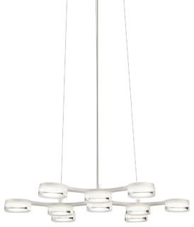 lan A Kichler Company 83015 Neron 10 Light Chandeliers in