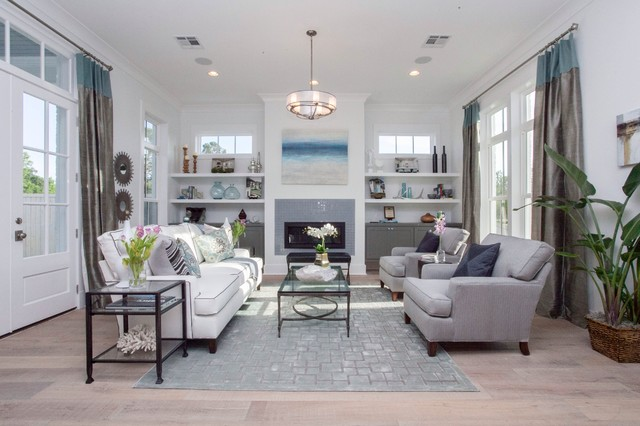 formal living room end tables soft green paint color for modern farmhouse - audubon square transitional ...