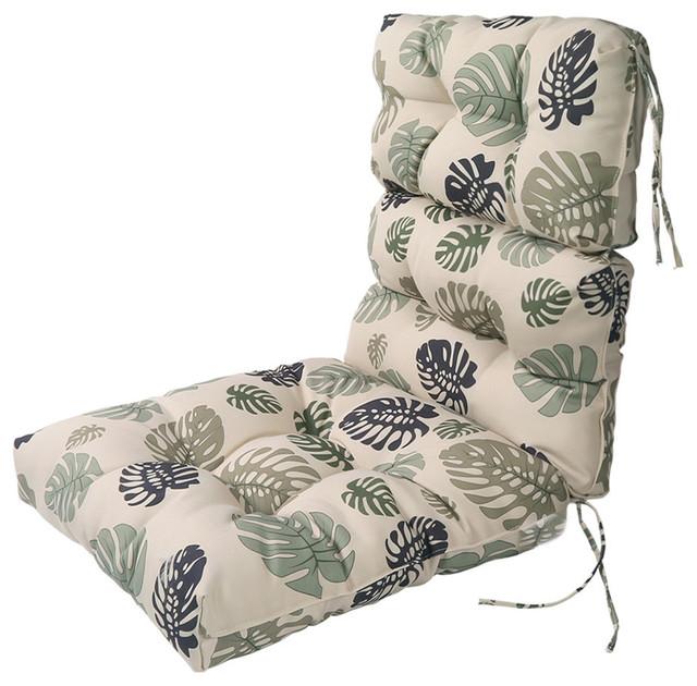 lnc indoor outdoor lounge chair cushions patio high back chair cushion green