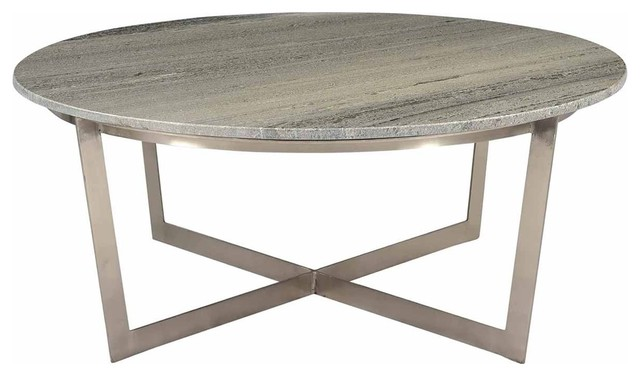 39 dia lisandro coffee table smooth solid marble stone top iron x base
