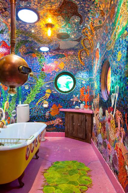 Gaudi Submarine bathroom  San Francisco CA  Eclectic  Bathroom  San Francisco  by