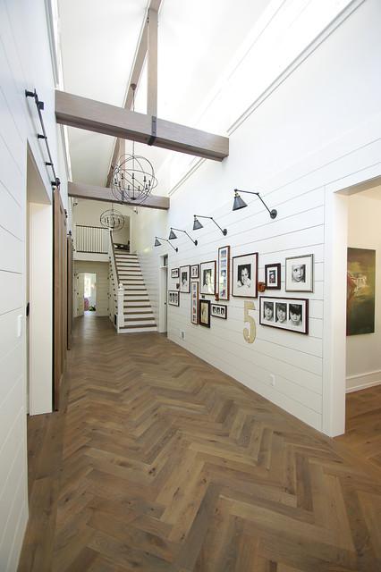 Modern Farmhouse Full Remodel -  Addition farmhouse-hall