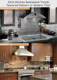 2016 Kitchen Backsplash Trends