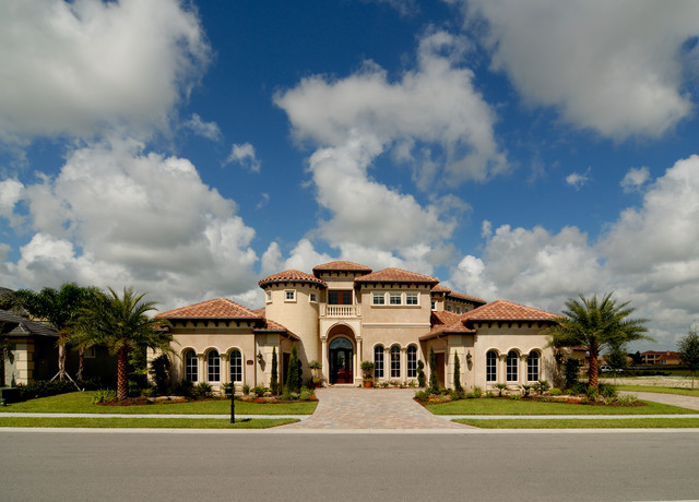 Christopher Burton Luxury Homes  Mediterranean  Exterior