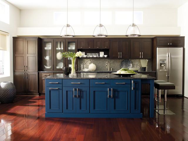 Omega Manteo Kitchen Cabinets Modern Kitchen By