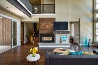 NW inspired Crest Meadows Residence - Contemporary ...