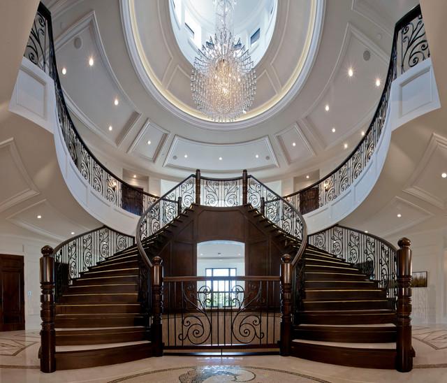 Nijjar Residence Traditional Staircase Vancouver