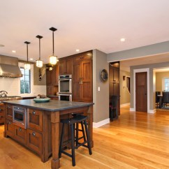 Unfinished Kitchen Chairs Stainless Steel Accessories Craftsman-style Home Chicago - Modern ...