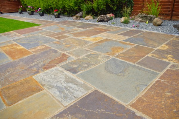 nustone rustic-copper slate paving