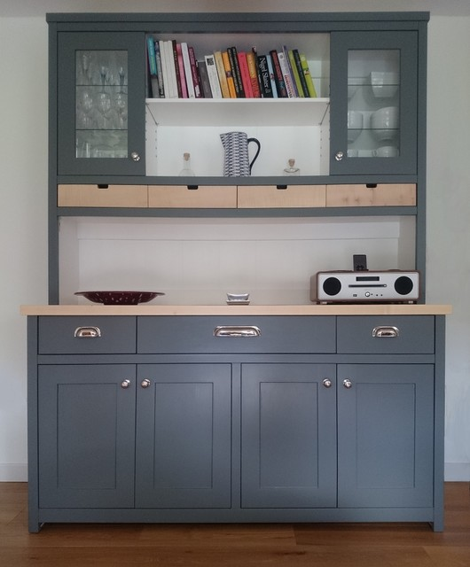 kitchen dresser antique white island large in scree and handmade scotland by the edinburgh contemporary display cabinets dressers