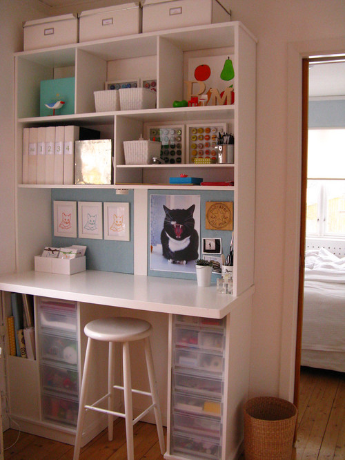 However, cheap isn't always best. Small Craft Room Ideas • Queen Bee of Honey Dos