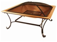 Catalina Creations Outdoor Fire Pits 33 in. Copper Fire ...