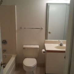 How To Redo Kitchen Cabinets On A Budget Counter Decor Pls Help Rescue This Almond Bathroom From The 80's!