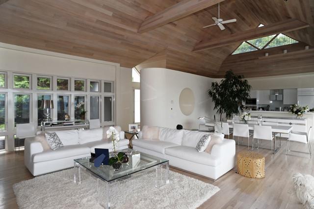 Hamptons Modern Living Room  Contemporary  Living Room