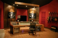 Spyglass Studio Control Room - Contemporary - Home Theater ...