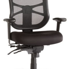 Alera Elusion Chair Pedicure And Manicure Chairs Series Mesh High Back Multifunction Black