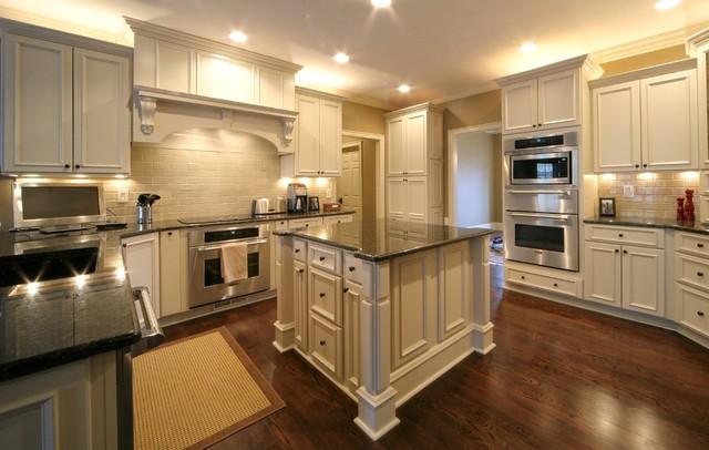 tudor kitchen remodel hape house - traditional kansas city by ...