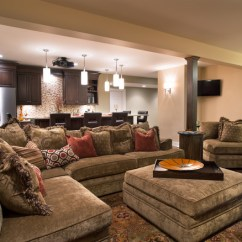 Houzz Dining Room Chair Covers Hanging Under $200 Cozy Home Theater - Traditional Basement Other By Kristin Petro Interiors, Inc.