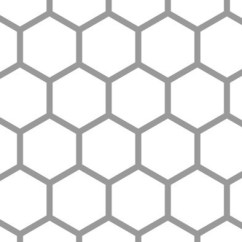 Small Living Room Chairs Sale Idea Modern Hex Tile Accent Stencil - Traditional Wall Stencils By ...