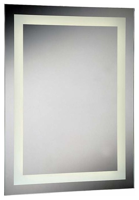Eurofase Lighting 29108 Rectangular Shaped Flat 1 Light LED Mirror  Contemporary  Bathroom