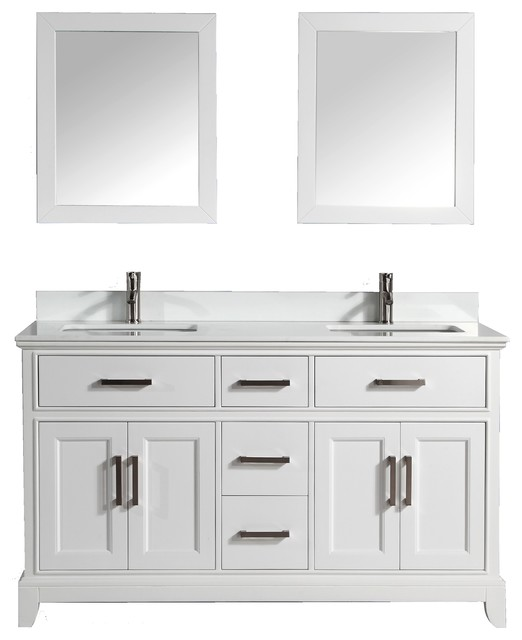 Vanity Art 72 Bathroom Vanity Set With White Phoenix