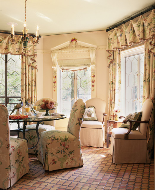 Chicago Residence Breakfast Nook Traditional Dining Room