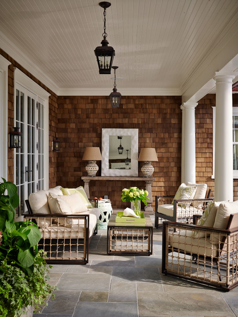 Cheap Side Table Lamps Shingle Style - Victorian - Patio - Jacksonville - By