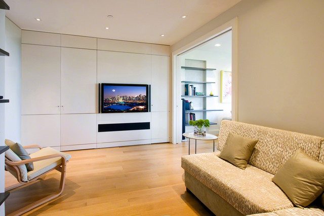 TV With Built In Cabinet And Soundbar
